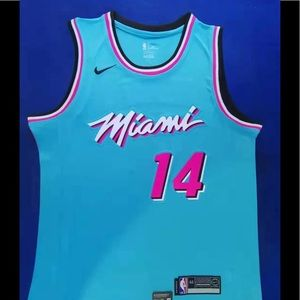 Tyler Herro #14 Miami Heats Jersey